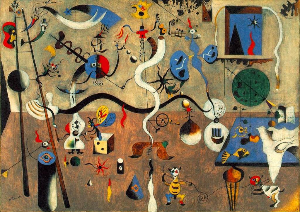 arte_mostra_Carnevale-di-Arlecchino-Joan-Miro-1925