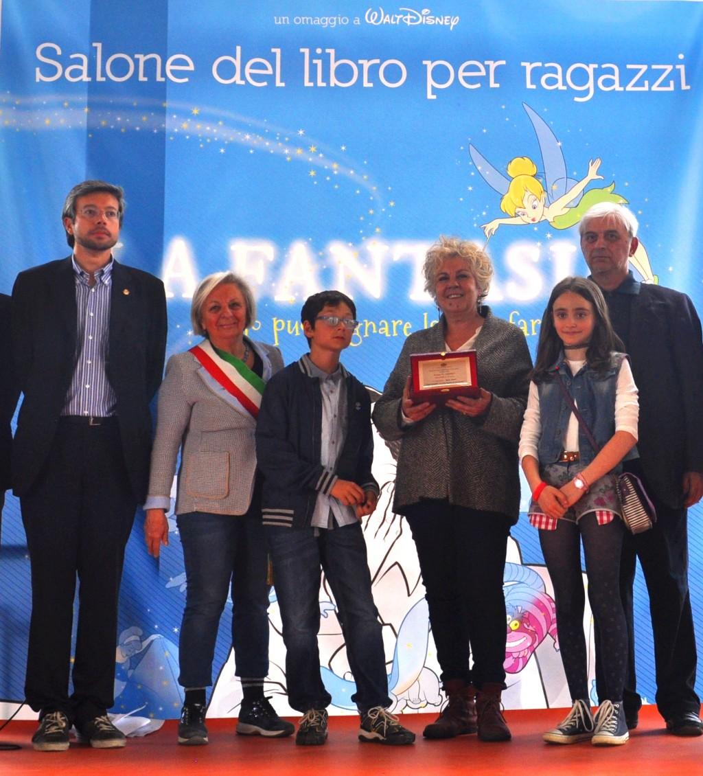 Vincitrice premio Giovanni Arpino