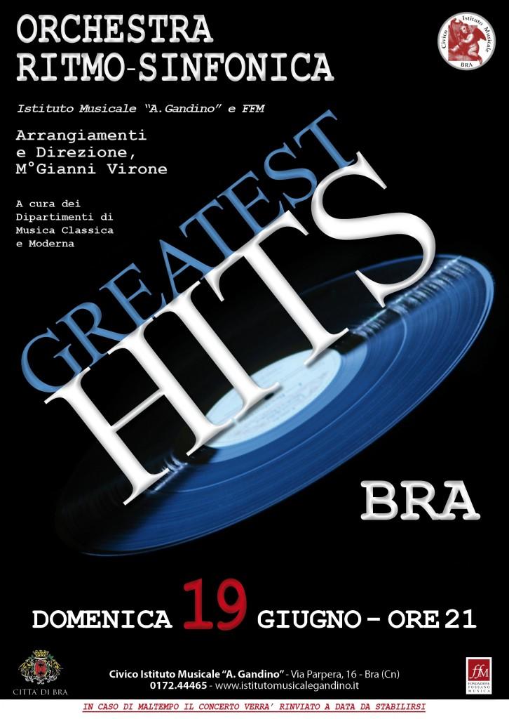 Locandina Greatest Hits BRA-1