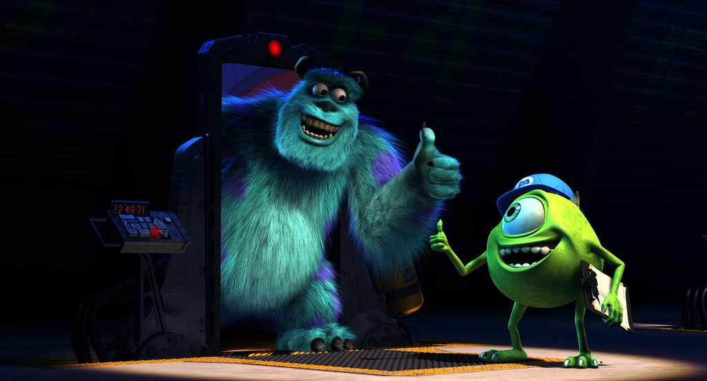 """MONSTERS, INC. 3D""  (L-R) SULLEY and MIKE. ©2012 Disney•Pixar. All Rights Reserved."