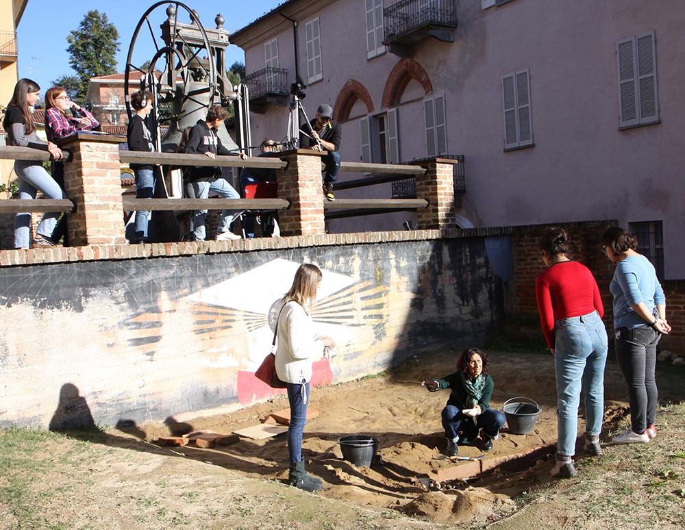 ricostruzione tomba Dama di Pollenzo