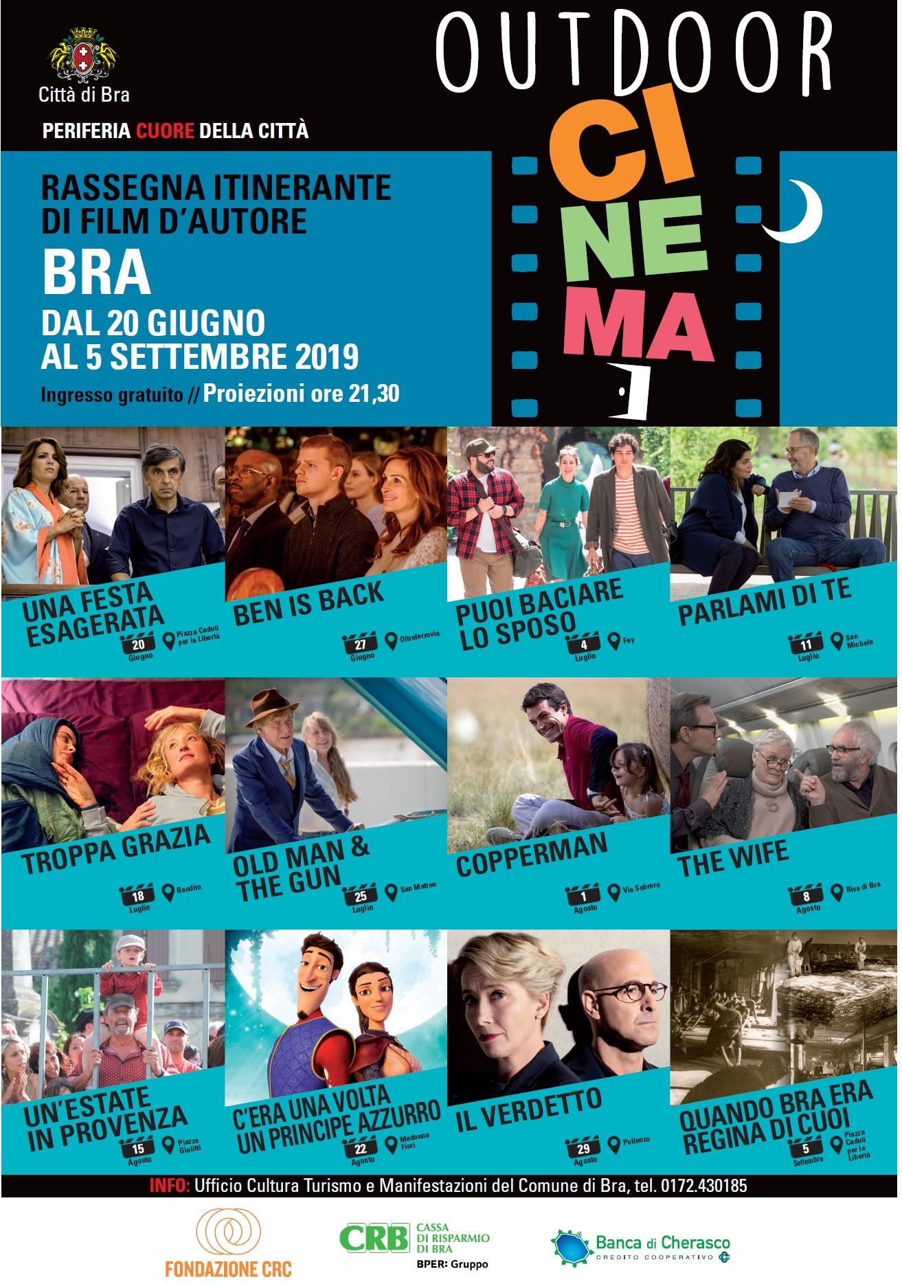 locandina cinema 19 aggiornata