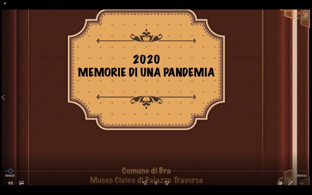 memorie di una pandemia